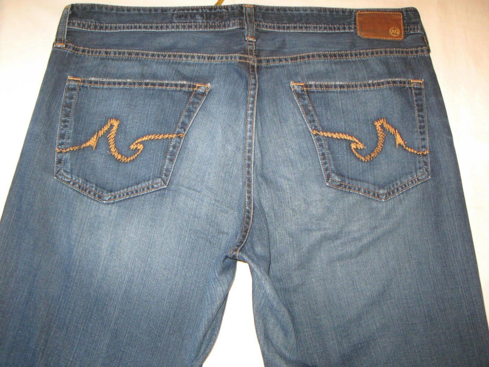 AG ADRIANO goldSCHMIED Mens Predege Jeans 36 X 27 Straight 100% Light Cotton