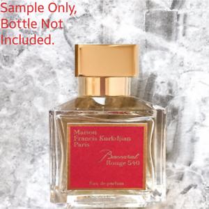 Authentic Maison Francis Kurkdjian Baccarat Rouge 540 Edp Sample Eau