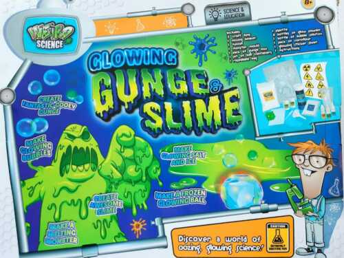 Science Experiments For Kids Slime Kit Weird Fun Children Home Activity Set