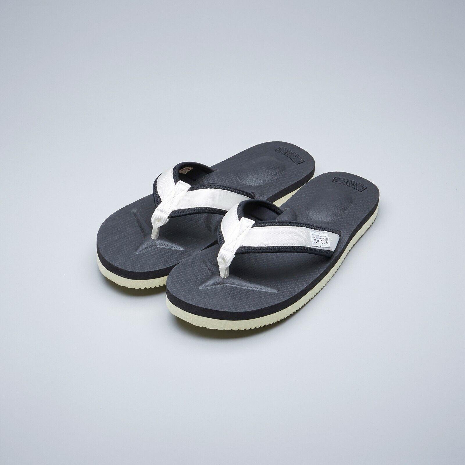 Suicoke OG-021V2 tono-V2 Suela Vibram de Nylon blancoo Zapatillas Sandalias Diapositivas
