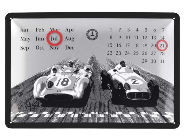 Genuine Mercedes-Benz Classic Metal Calendar B67995179 NEW
