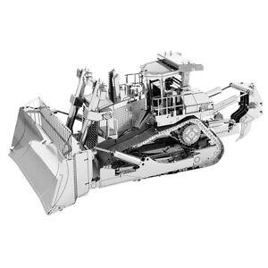 Details about Metal Earth CAT DOZER 3D Laser Cut Metal DIY Model Hobby  Bulldozer Build Kit