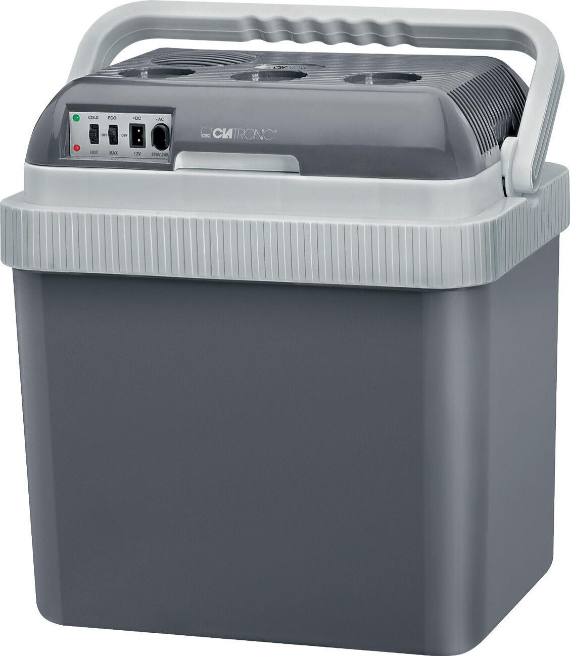 Clatronic KB 353 Kühlbox zum Kühlen und Warmhalten 12 u. 230 Volt Flaschenkühler
