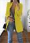 Women-Slim-Casual-Blazer-Jacket-Top-Outwear-Long-Sleeve-Career-Formal-Long-Coat thumbnail 11