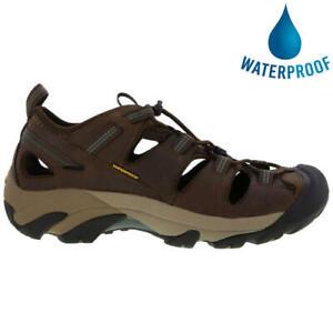 Keen-Arroyo-II-Mens-Waterproof-Walking-Hiking-Water-Sandals-Brown-Size-8-14