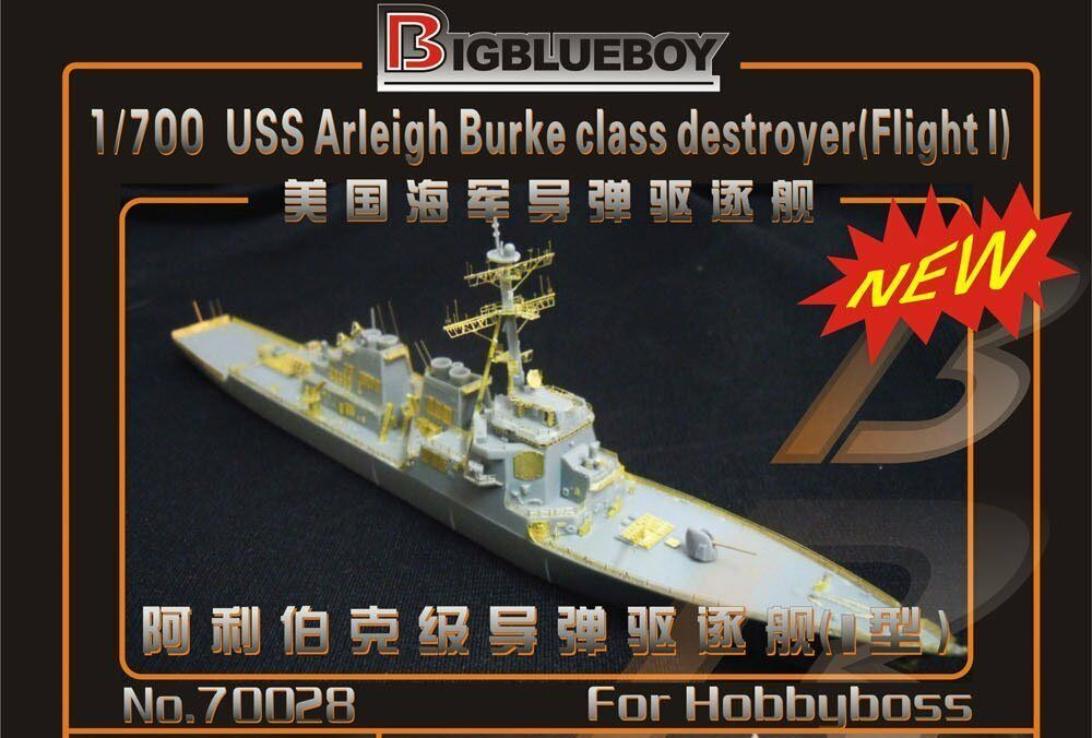 Big bluee Boy 1 700 USS Arleigh Burke Class Flight-I Detail for Hobby Boss