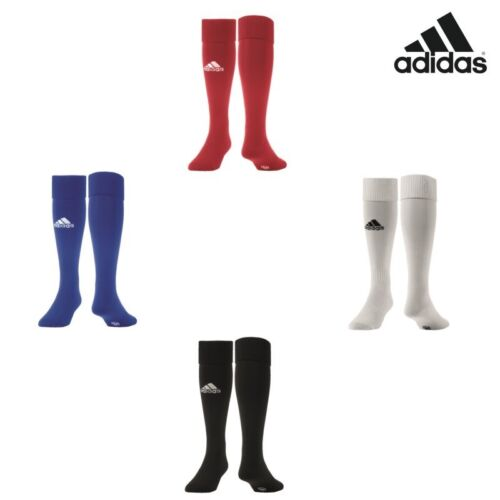 adidas Milano Socke Stutzenstrumpf weiß rot schwarz blau