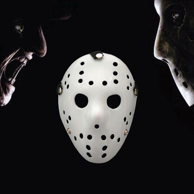 1X Jason Voorhees Friday 13th Horror Movie Hockey Mask Scary Halloween Cosplay