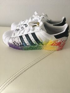 release date the cheapest new high Details about Adidas Shoes Pride Pack Adidas Originals Women Size 38