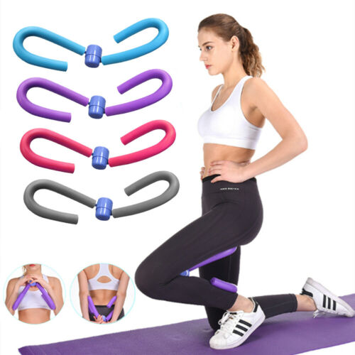 Thigh Exerciser Gym Yoga Fitness Exercise Arm Leg Muscle Toner Trimmer Trainer