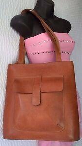 Image Is Loading Mario Hernandez Brown Leather Shoulder Bag