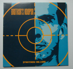 Brother's Keeper – Fantasy Killer LP UNPLAYED Comme neuf marbleblue Vinyle US HARDCORE