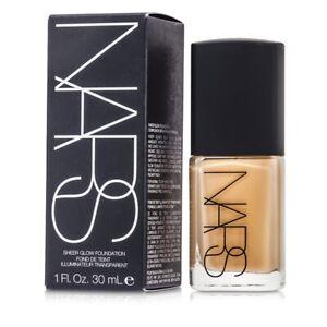 NEW-NARS-Sheer-Glow-Foundation-Punjab-Medium-1-30ml-1oz-Womens-Makeup