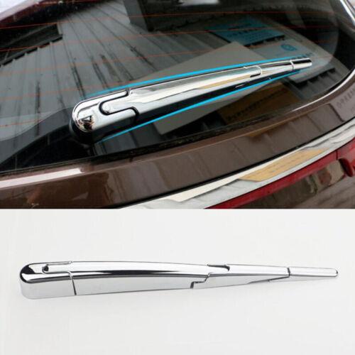 For Kia Sportage 2017 2018 Chrome Rear Window Wiper Arm Blade Cover Trim Molding