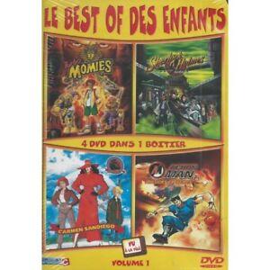 Le-Best-Of-Des-Enfants-Volume-1-Coffret-4-DVD-Neuf