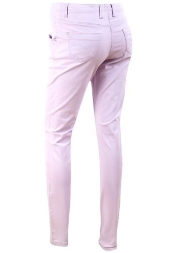Ex Store Cotton Rich Maternity Skinny Twill Jeans Lilac