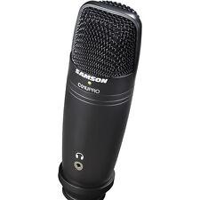 Samson C01U PRO Professional USB Studio Condenser Microphone *Black Edition* NEW