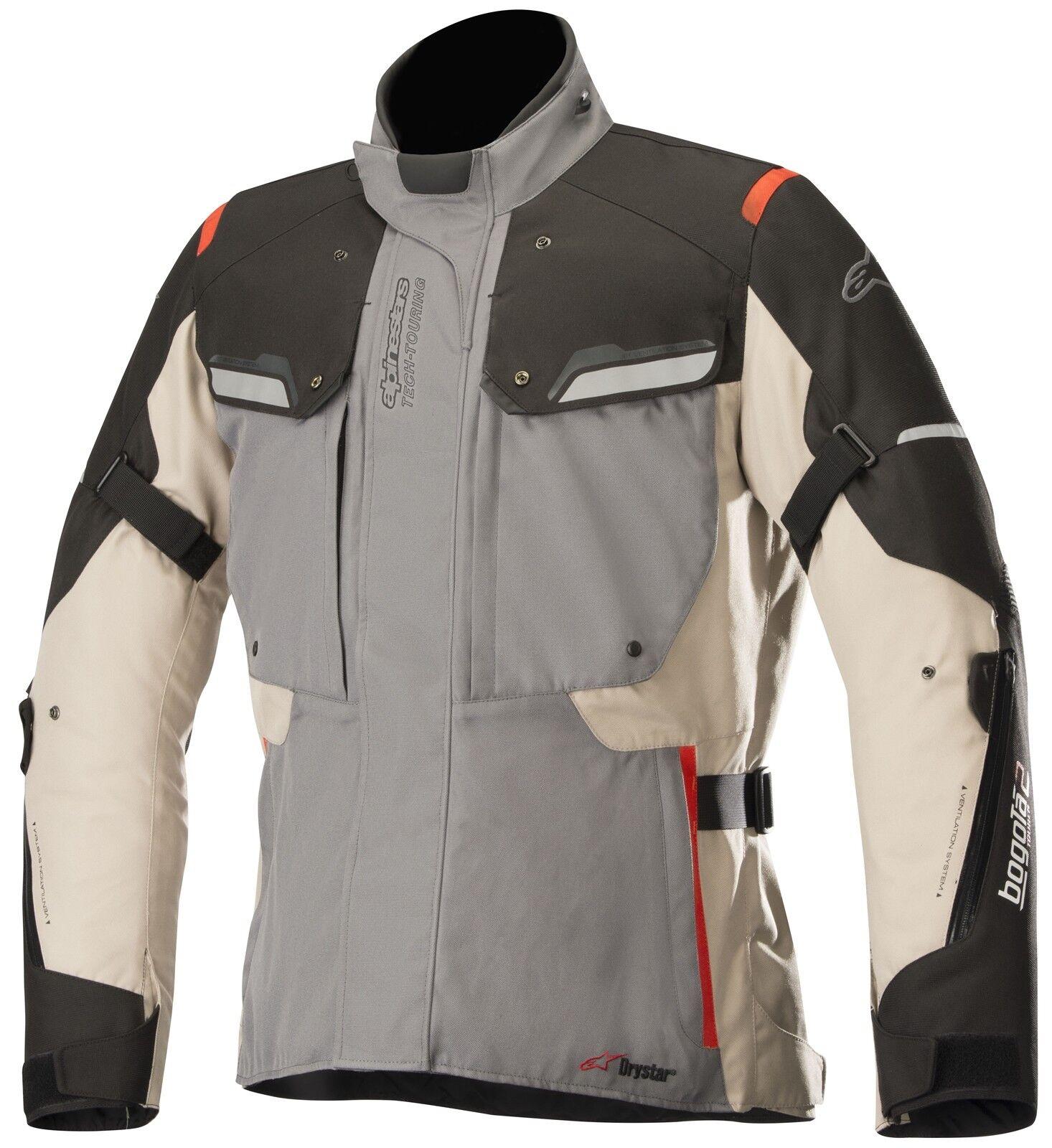 Alpinestars Bogotá V2 Drystar hombre chaqueta de moto impermeable Deporte