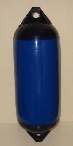 Polyform Langfender , Fender , F 3 B ,blau ,blau B m. blauen Kappen , 76 x 21 cm 837373
