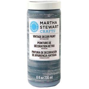 Martha Stewart Vintage Matte Chalk Paint 8 oz #33525 River Rock