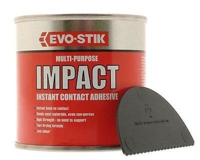 EVO STIK - EVOSTIK IMPACT 250G Stick Contact Adhesive Glue tin