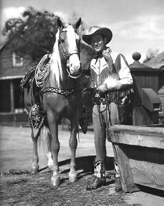American-Actor-Singer-ROY-ROGERS-Glossy-8x10-Photo-Print-Cowboy-Film-Poster