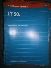 VW LT 50 1983 : programme autodidactique 52