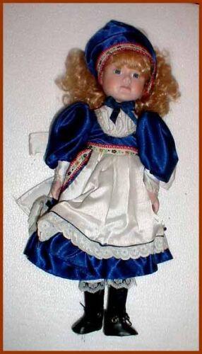 Porzellan Puppe Porzellanpuppe cd16861