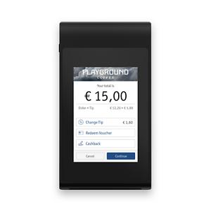 """USB /& Wi-Fi Enfore Paypad Zahlterminal Kartenzahlung 3,5 /"""" Touchscreen"""