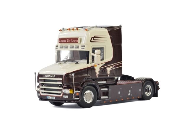 WSI Collectibles SCANIA 4 TORPEDO Topline 4X2 unità grohganz media Transporte 01-2085