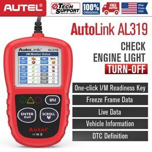 Autel Autolink AL319 OBD2 CAN Diagnostic Scanner Auto Fault Code Reader Tool MIL