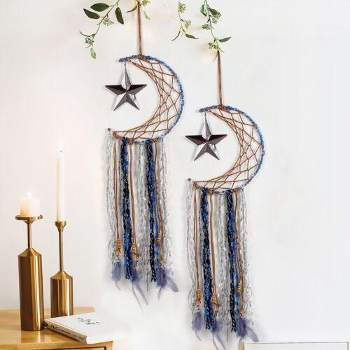 Bohemian Macrame Dream Catcher Wall Hanging Tapestry Handmade Home Bedroom Decor