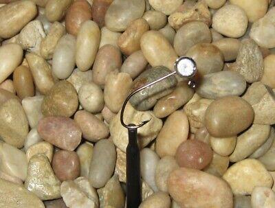 50 Hand made 1//16  no collar crappie pill jig heads w// #4 black sickle hook