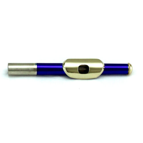 HOLIDAY SALE Approved Metallic Blue Piccolo w Gold Keys *Great Gift*