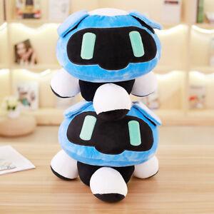Blue Pillow Overwatch Plush Stuffed Toy Mei Frozen Robot Cushion