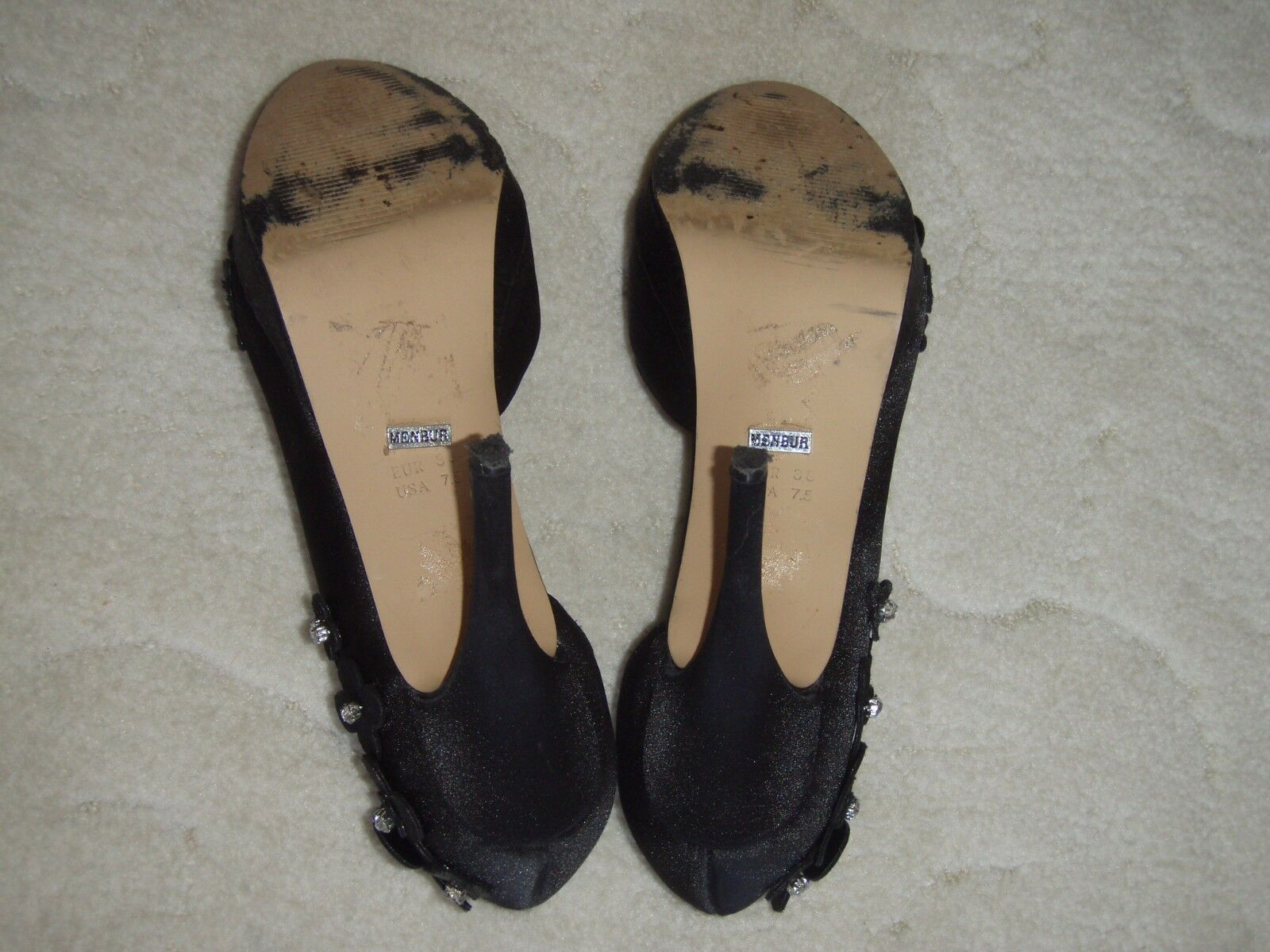 MENBUR - sexy Damen Damen Damen Pumps   Schuhe - Schwarz - Gr. 37   38 - neuwertig 851992