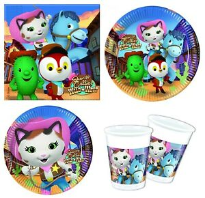 Details About Disney Sheriff Callie S Wild West Birthday Party Tableware Supplies Decorations