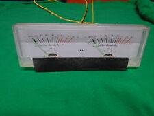 AKAI GX-620 GX-625 VU METER KL-292B-1 P/N EM316135 USED PARTS