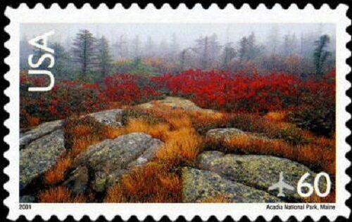 2001 60c Acadia National Park, Maine Scott C138 Mint F/