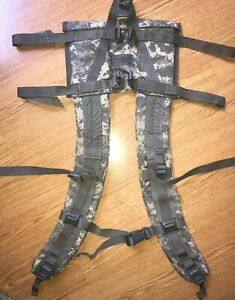 MOLLE II US Military Army Surplus ACU Camo Shoulder Straps Quick Release