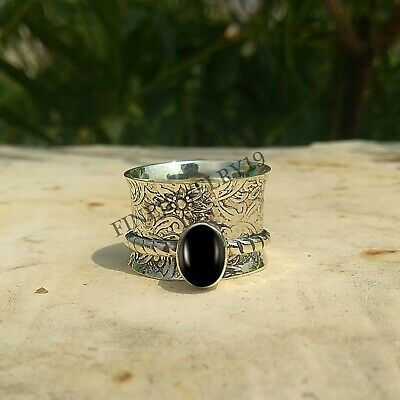 Meditation ring Anxiety ring Black Friday sale Meditation jewelry Silver ring Spinner ring Anxiety relief Anxiety jewelry