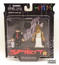 Spirit Minimates Previews Exclusive Battle Damaged Spirit & Formal Sand Saref