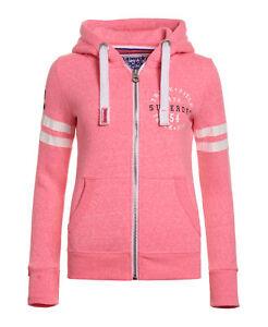 vince Pink che Superdry Felpa Superdry Snowy Field cappuccio Track donna con da xTF1Fz8wvq