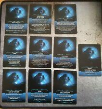 NEMESIS Board Game 5 Unique PROMO ACHIEVEMENT Cards  MINT