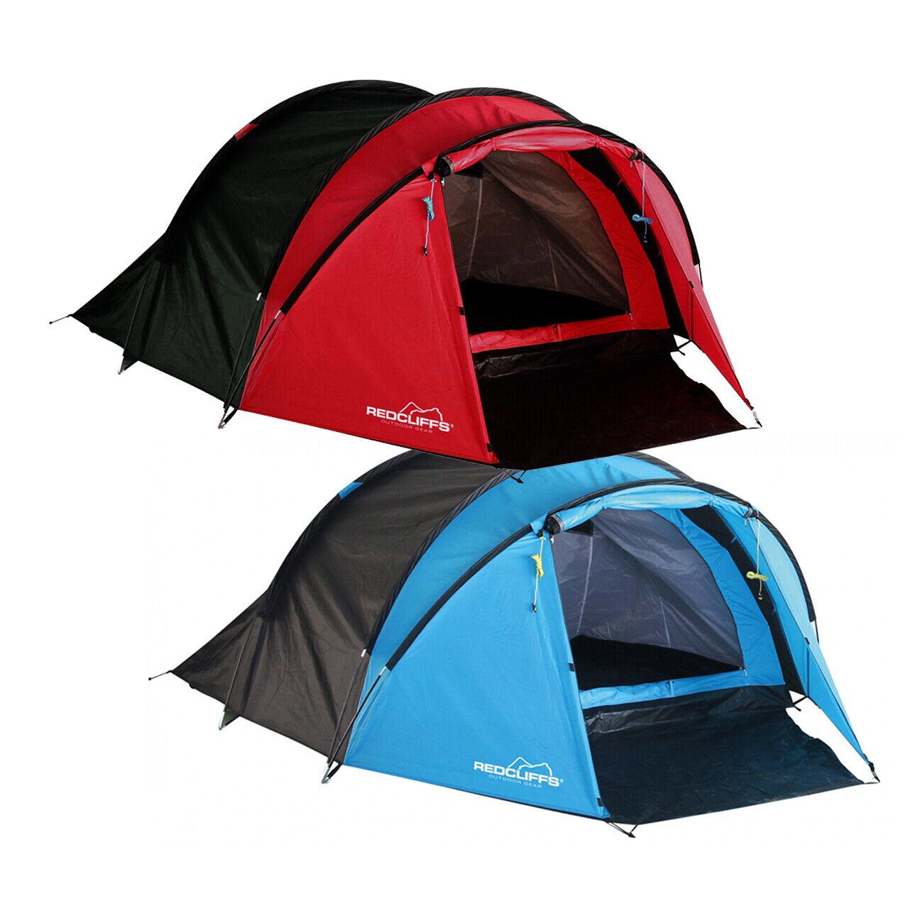 Zelt Zelt Zelt für 2 Personen in Rot oder Blau 64c98a