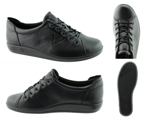 206503 56723 ECCO soft 2.0 noir taille 35-43 artikelnr