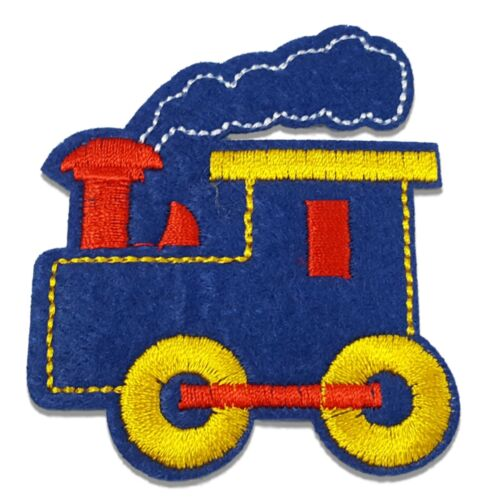 Sew On Embroidered Motif Patch Patches Applique *Buy 2 get 10/% off* Train Iron