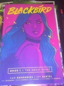 BLACKBIRD-vol-1-the-great-beast-TPB-graphic-novel-REPS-1-6-IMAGE-book-Humphries