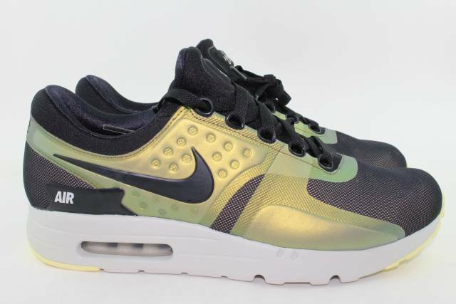 a8638831c1418 Nike Air Max Zero SE 918232-004 Black Light Bone Men's Running Sportswear  Shoes