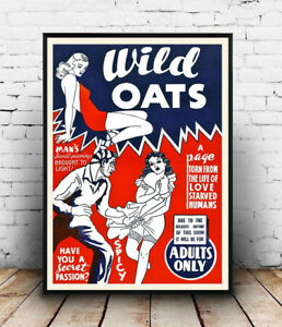 Wild-Oats-old-Movie-advertising-Reproduction-poster-Wall-art